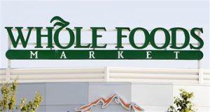 Whole Foods Market Custom Storefront Sign