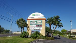 Brick Pylon Sign, Tenant Sign in Jupiter, FL
