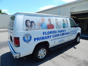 Custom Van Wrap Florida Family Primary Care Centers