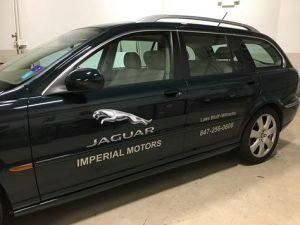 Jaguar Vehicle Spot Graphics