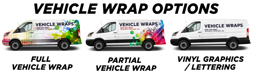 Palm Beach Vehicle Wraps vehicle wrap options