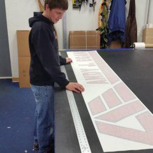Vinyl Lettering custom vinyl graphics 300x300